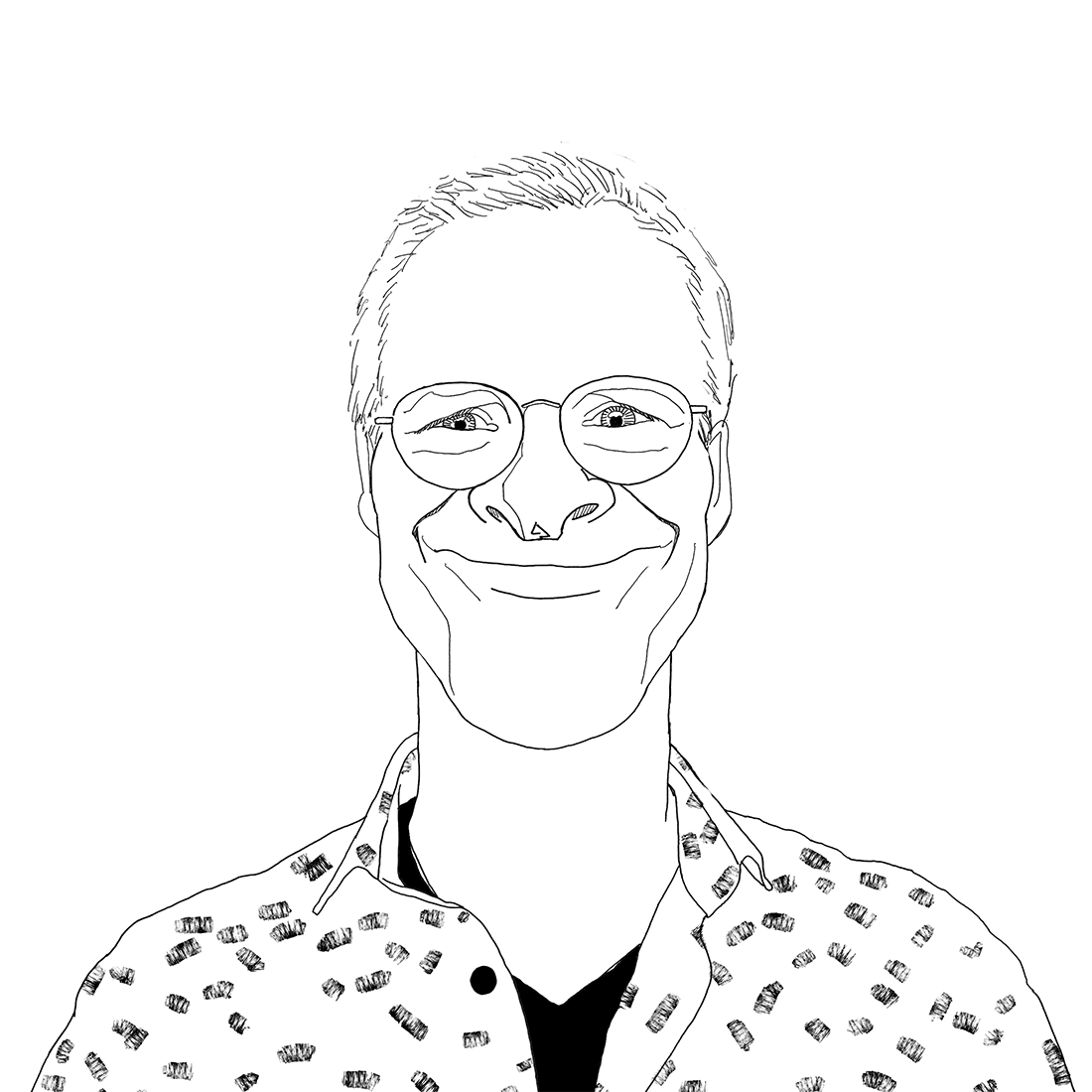 Jeroen Lely met witte achtergrond